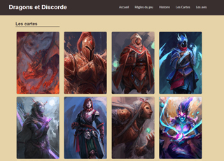 site Dragons et Discorde